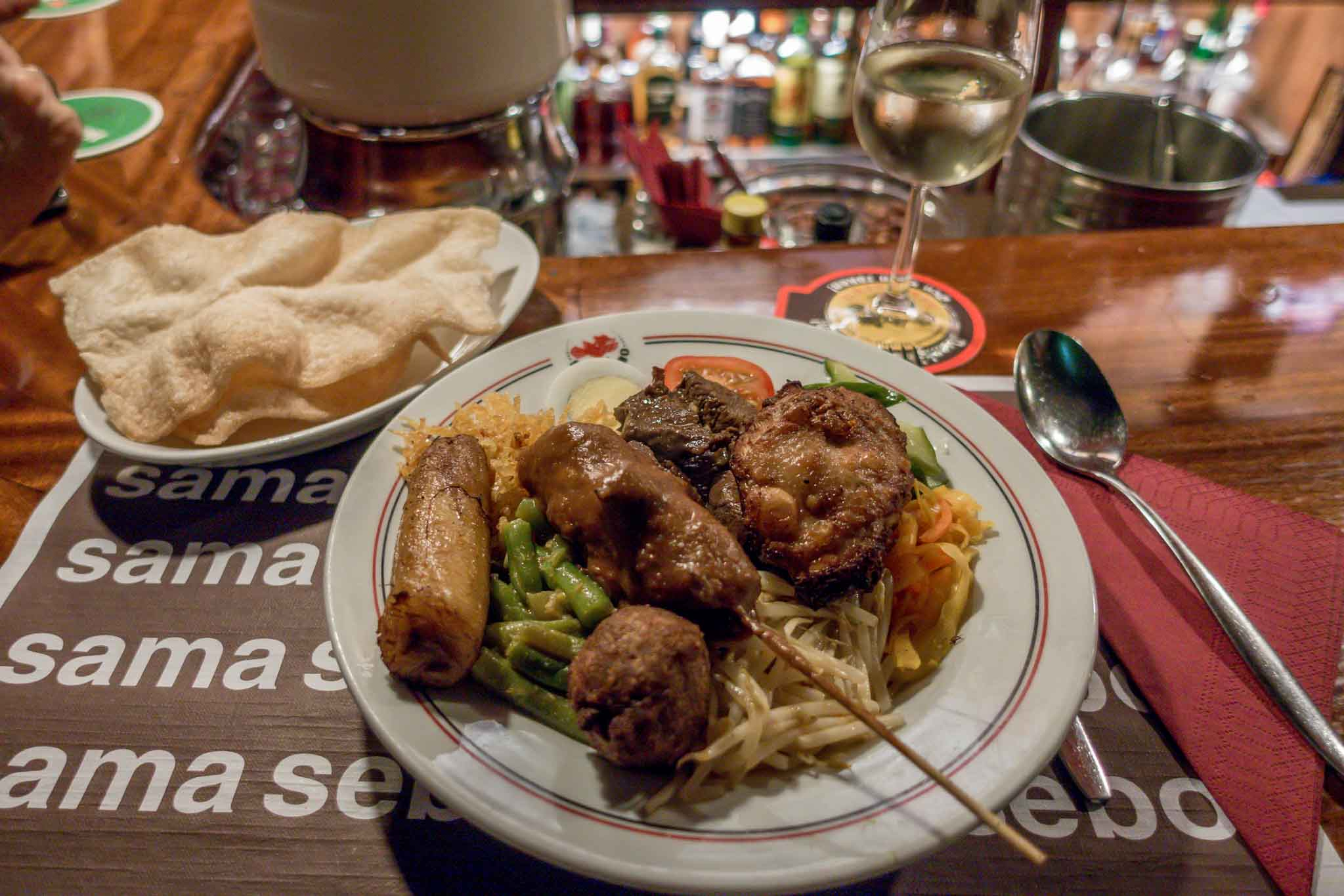 Indonesian food is a must-try when you visit Amsterdam