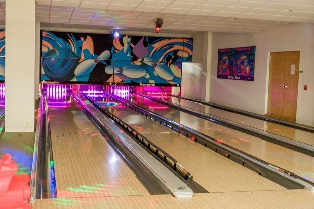 The bowling alley at Split Rock.