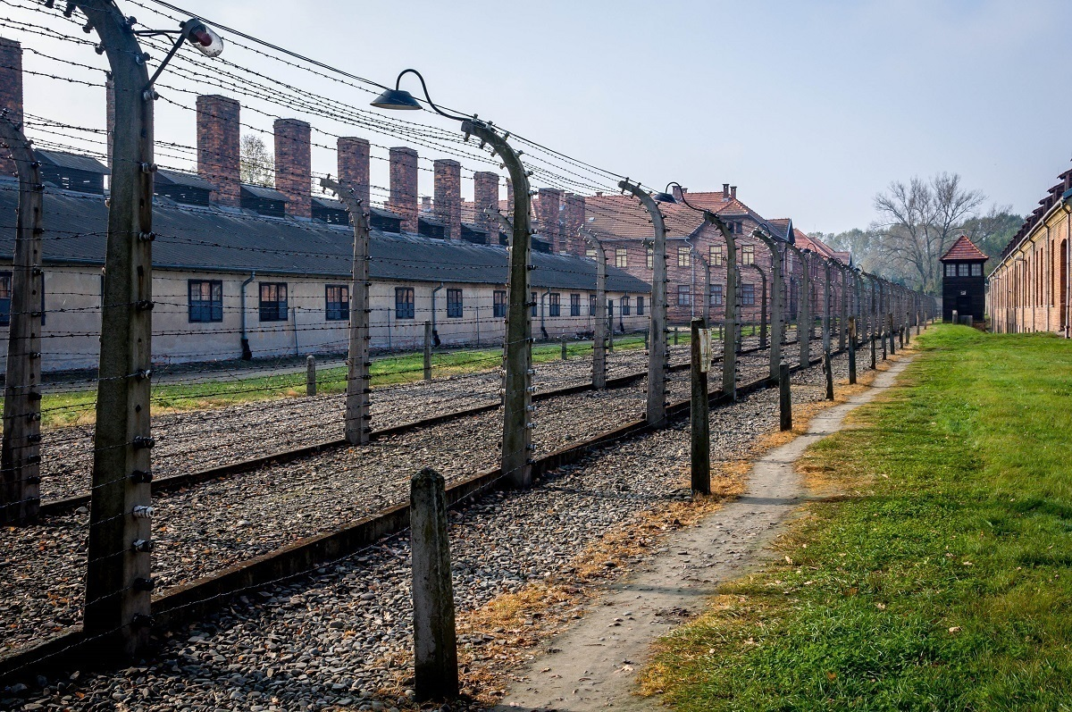 The Auschwitz concentration camp is one of the most well known UNESCO World Heritage Sites.