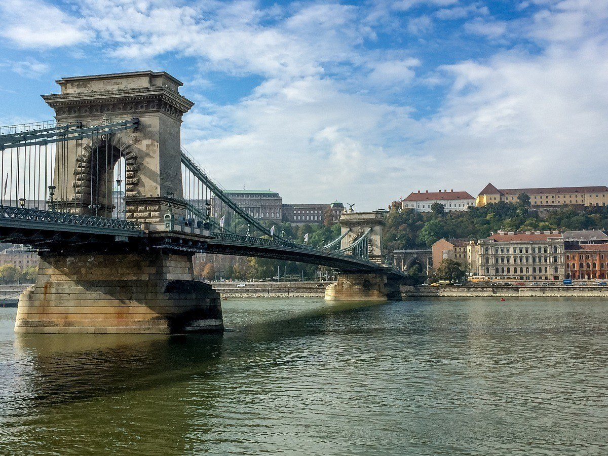 Maybe the world's prettiest capital:  Budapest on the banks of the Danube River.