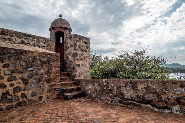 Fort San Felipe in Puerto Plata, Dominican Republic
