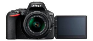 Nikon's entry-level DSLR, the Nikon 5500, makes an excellent DSLR camera for travel.