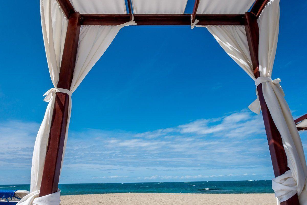 Cabana on Playa Dorada beach