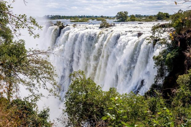 Zambia's Victoria Falls is one of the Top 10 UNESCO World Heritage Sites.