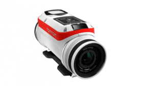 The TomTom Bandit travel action camera.