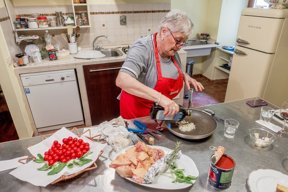 Cooking with Nonna let you learn techniques from a real Italian grandmother