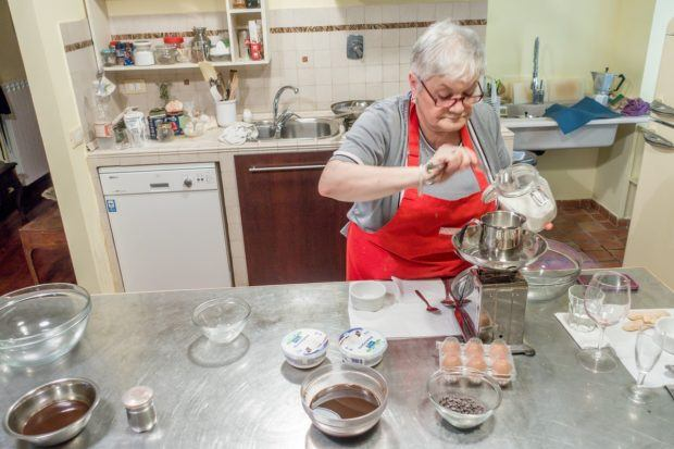 Cooking with Nonna (cooking with an Italian grandmother), a great cooking class in Rome, Italy, by Eating Italy