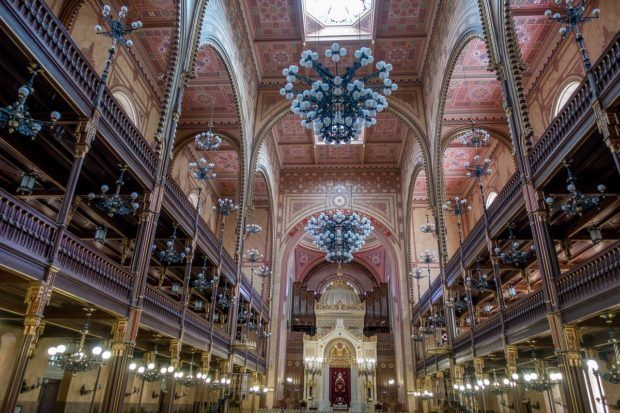 The Dohany Street Synagogue - also known as the Great Synagogue - is a key part of any visit to the Budapest Jewish Quarter