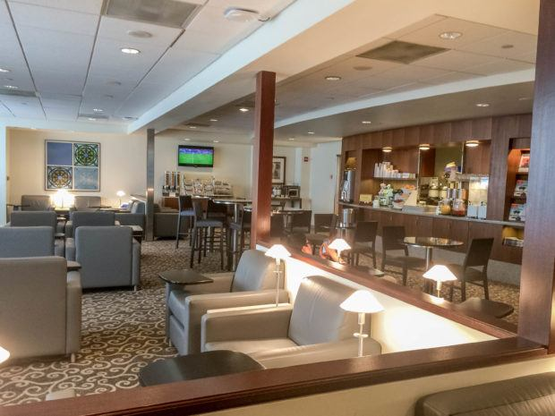 Many hotels and airlines have private lounges for preferred customers
