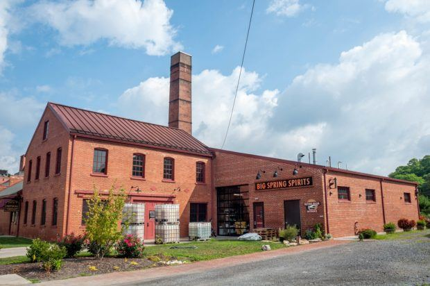Big Springs Spirits in Bellefonte, Pennsylvania, is located in the historic Match Factory building