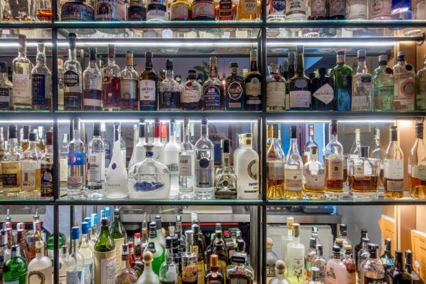 Bar selection in Budapest