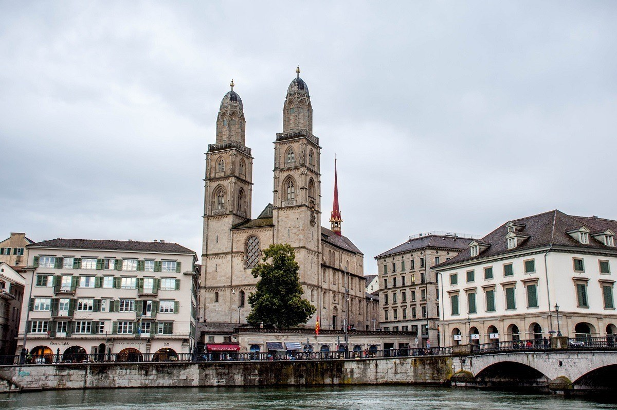 A highlight of my Zurich layover was a walking tour along the Limmat River.