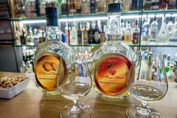 Palinka is Hungary's  strong fruit brandy