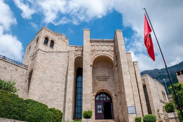 Kruja's ancient castle is now a museum