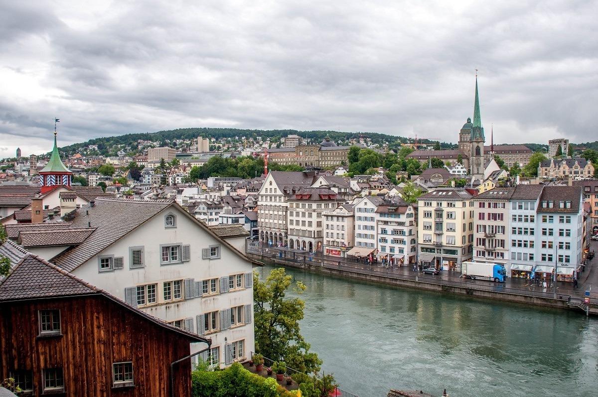 Walking In The Rain A Zurich Walking Tour Travel Addicts