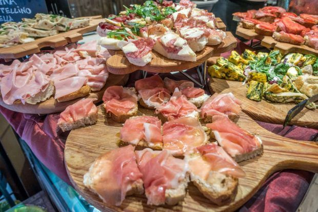 Aperitivo is a great evening tradition in Bologna, Italy