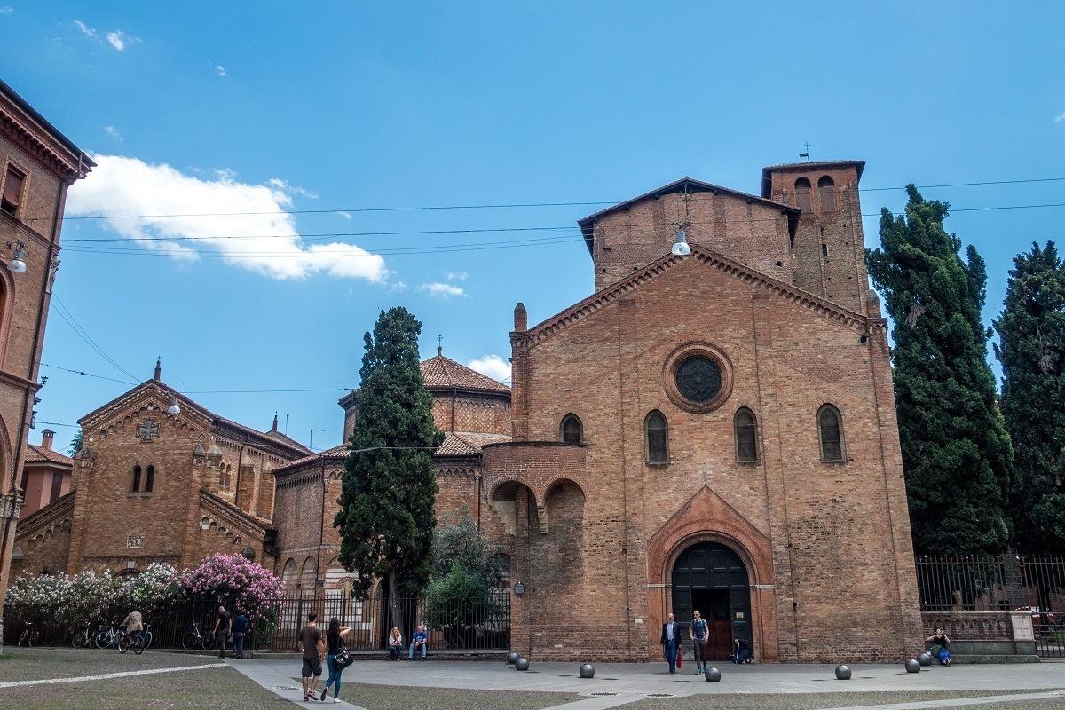 Basilica di Santo Stefano began as a group of seven churches in Bologna, Italy