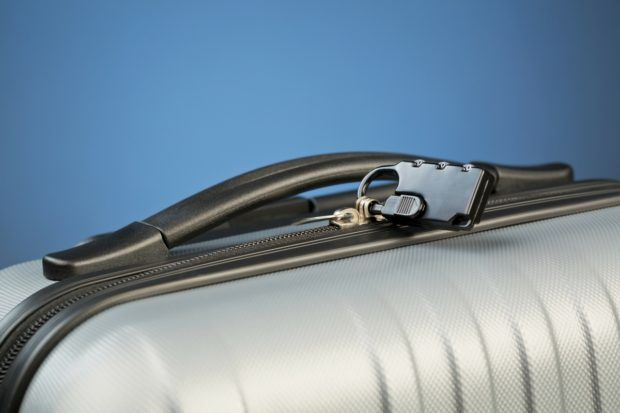 One factor to consider when selecting the best travel luggage is the lock on the suitcase.