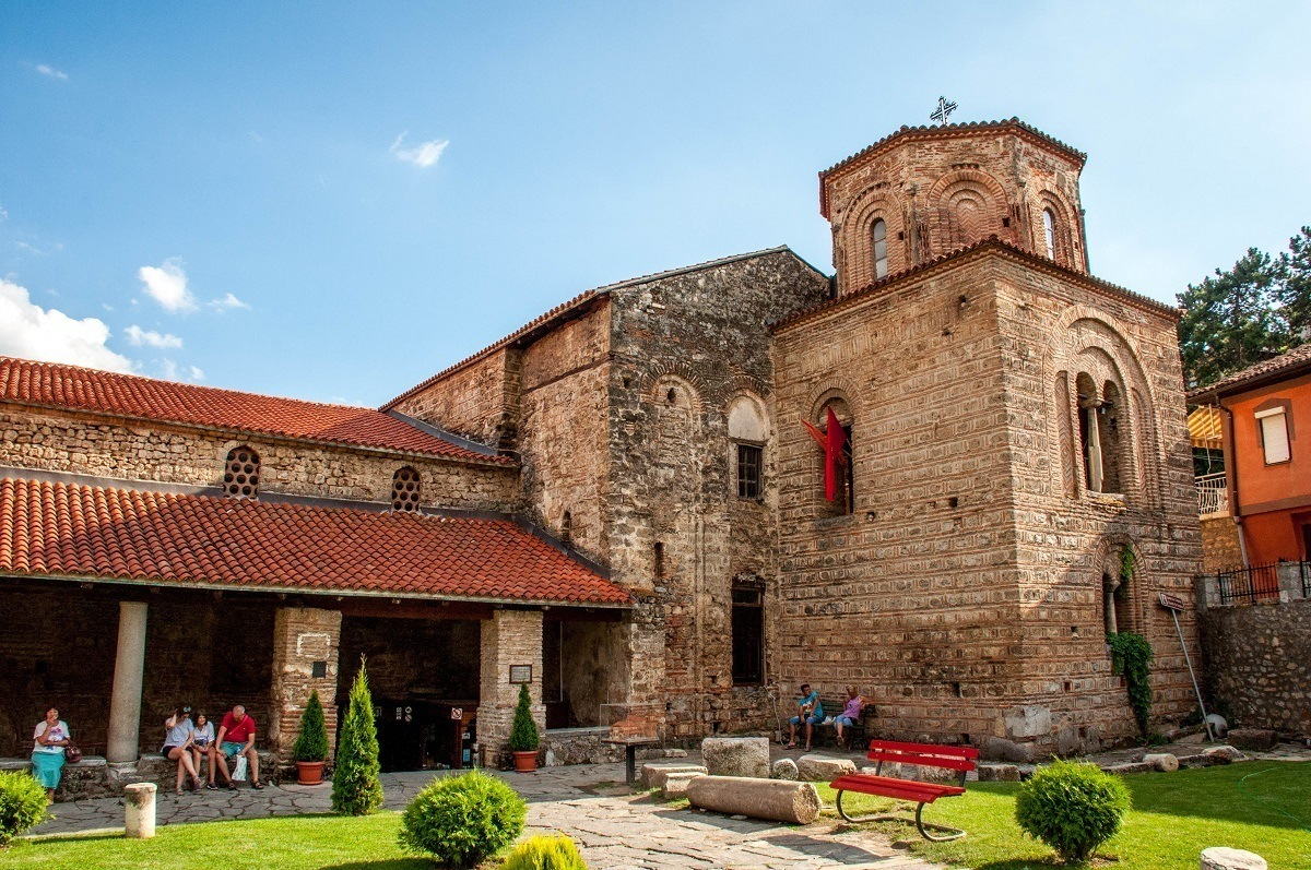 The St. Sophia Church in Ohrid Macedonia is known for its amazing frescoes.