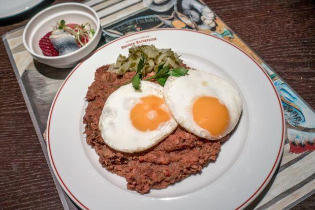 Labskaus, a northern Germany specialty food