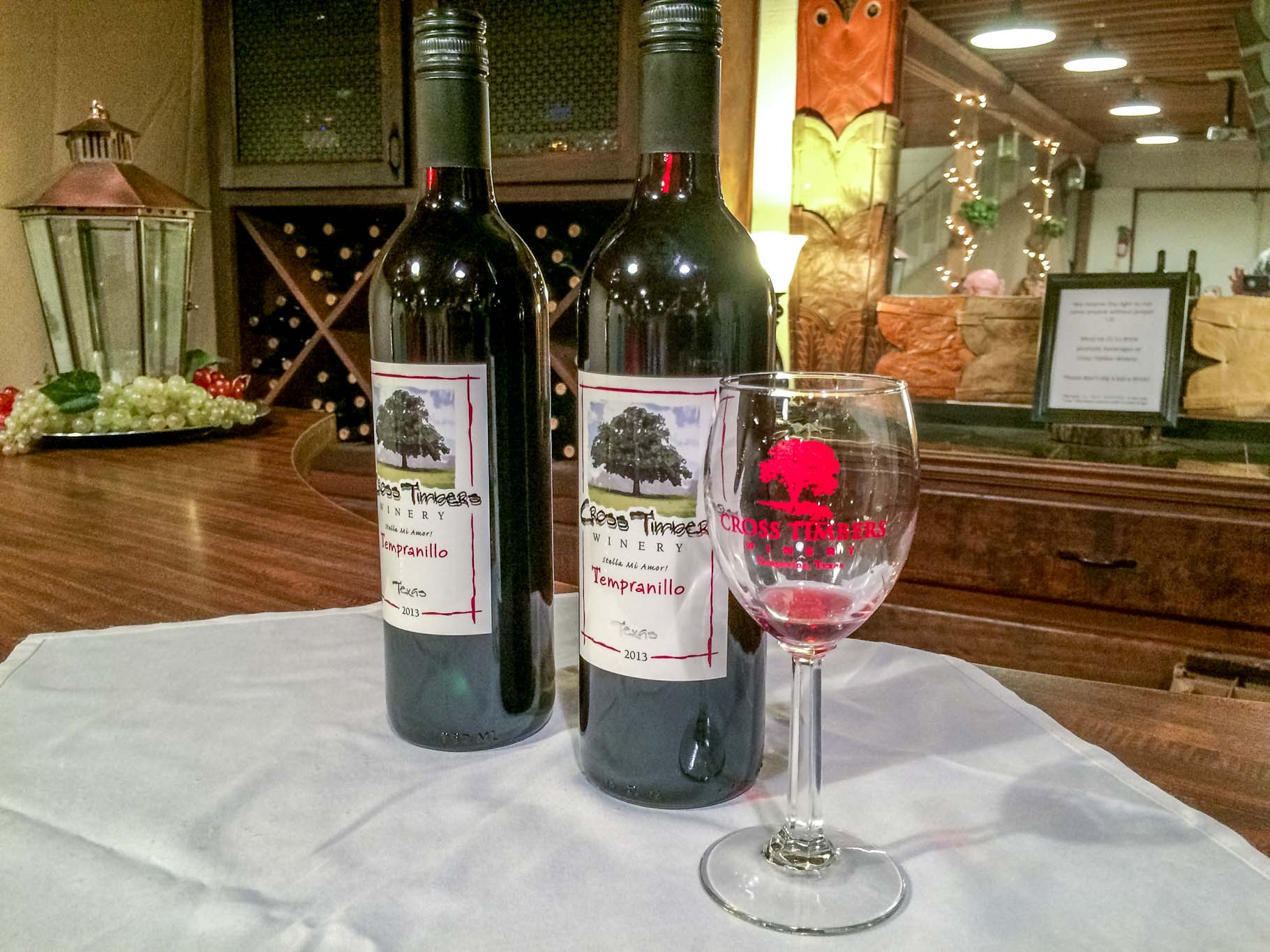 Cross Timbers Winery in Grapevine, Texas
