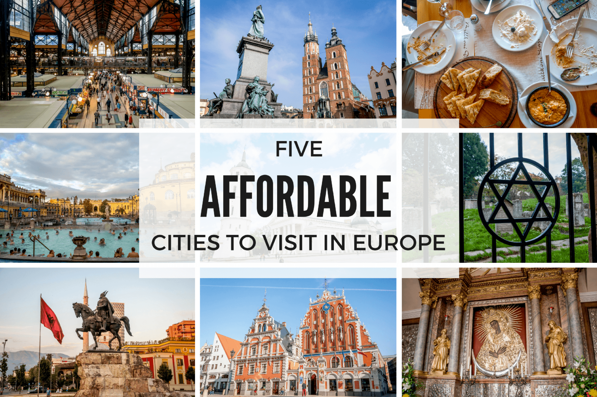 Five affordable cities to visit in Europe