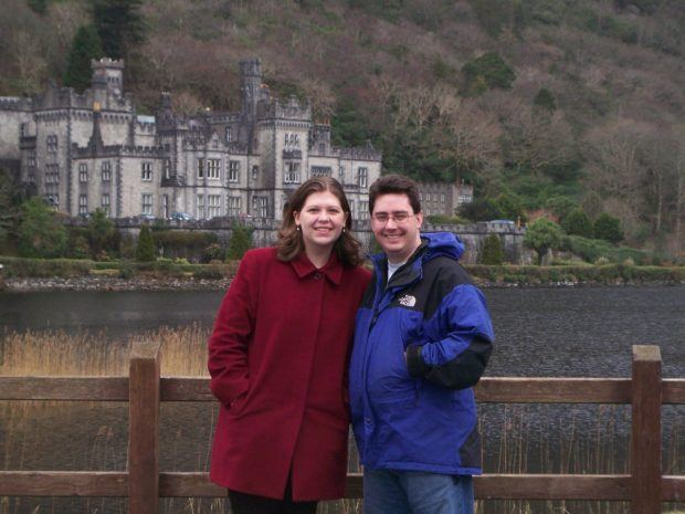 Me in my blue North Face jacket in Ireland in 2008.