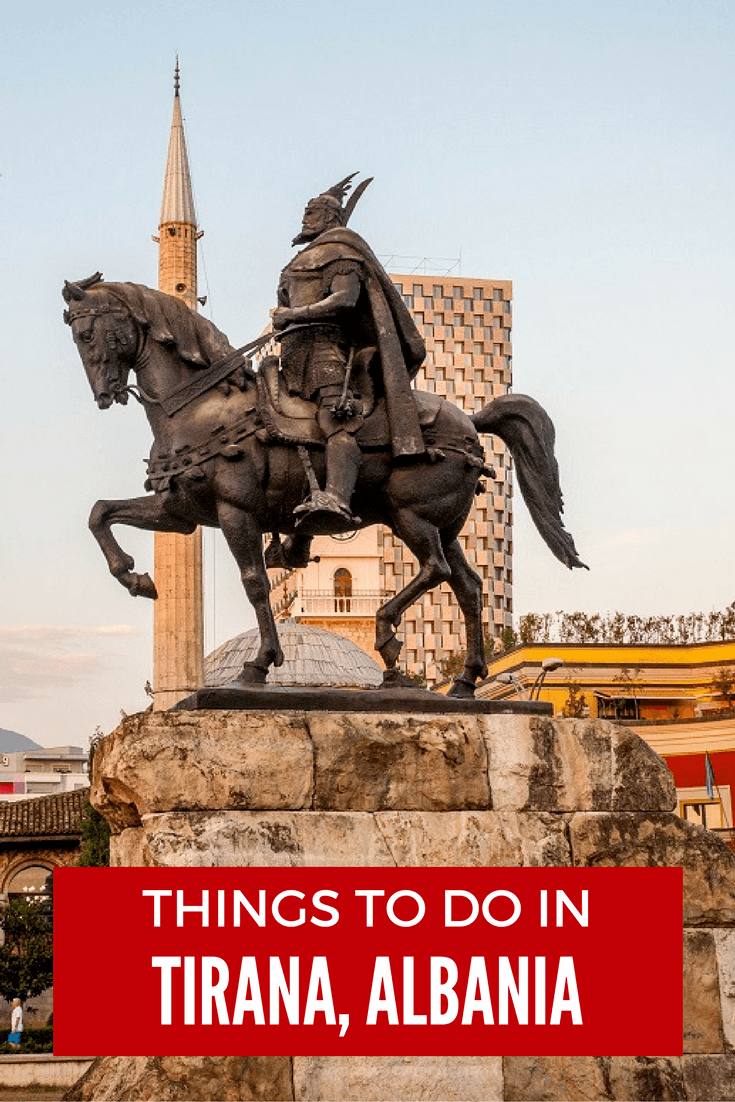 From cable cars with sweeping mountain views to learning about communist history, there are plenty of things to see and do in Tirana, Albania.