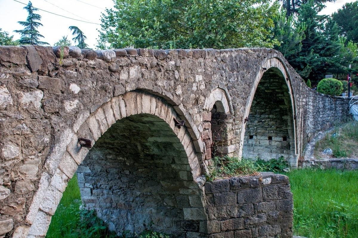 The Tanners' Bridge in Tirana