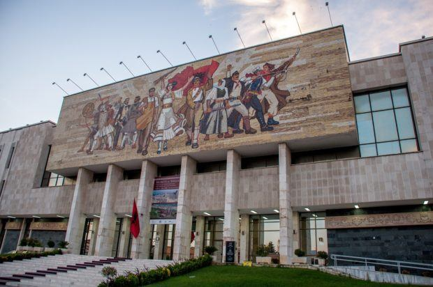 Tirana has several excellent museums like the National Historical Museum of Albania.