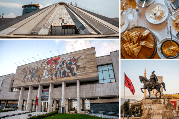 Tirana, Albania, is one of the very cheap places to visit in Europe