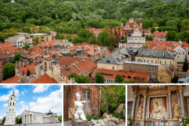 Vilnius, Lithuania, is a beautiful, not-too-touristy city. It's also at the top of the list for cheap places to visit in Europe.