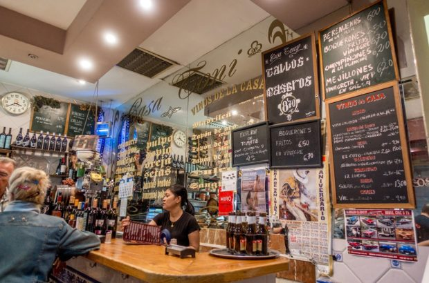 Tapas bar Casa Toni is just one of the delicious stops on a Madrid food tour with Devour Madrid