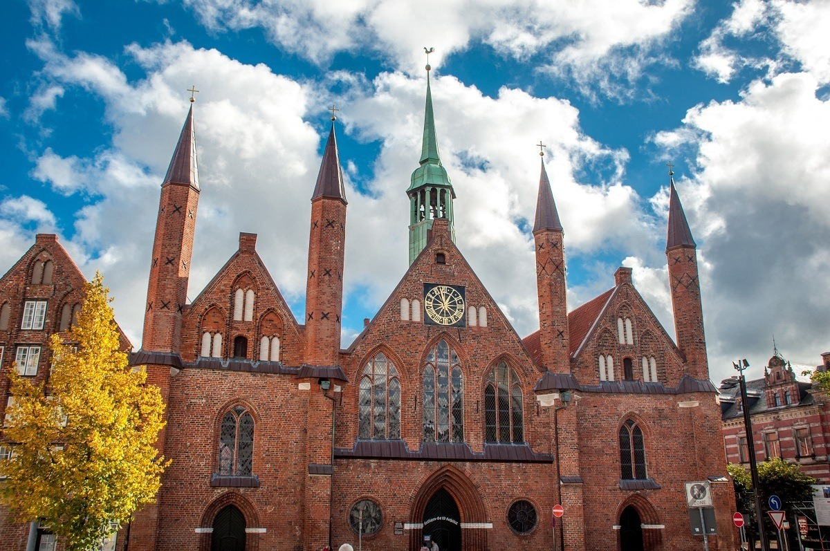 Lubeck's Hospital of the Holy Spirit is one of the oldest hospitals in Europe