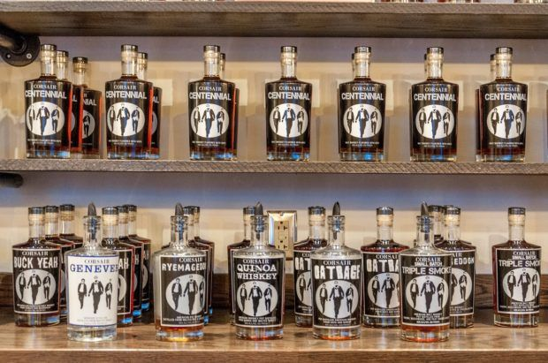 Corsair Distillery is known for making inventive spirits. It's one of the most popular Nashville distilleries.