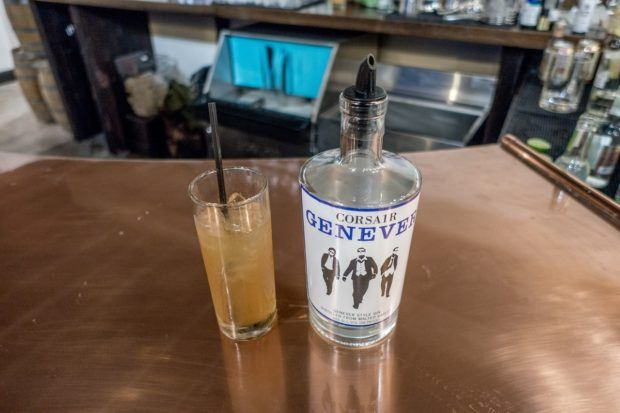 Genever is one of the specialties at Corsair Distillery in Nashville