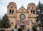 A visit to the Cathedral Basilica of St. Francis of Assisi is just one of the fun things to do in Sante Fe, New Mexico