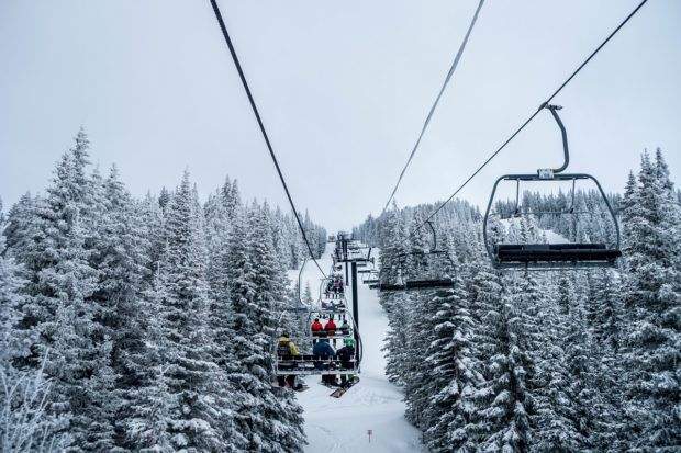 Spending a day at Ski Santa Fe is one of the most fun things to do in Santa Fe, New Mexico