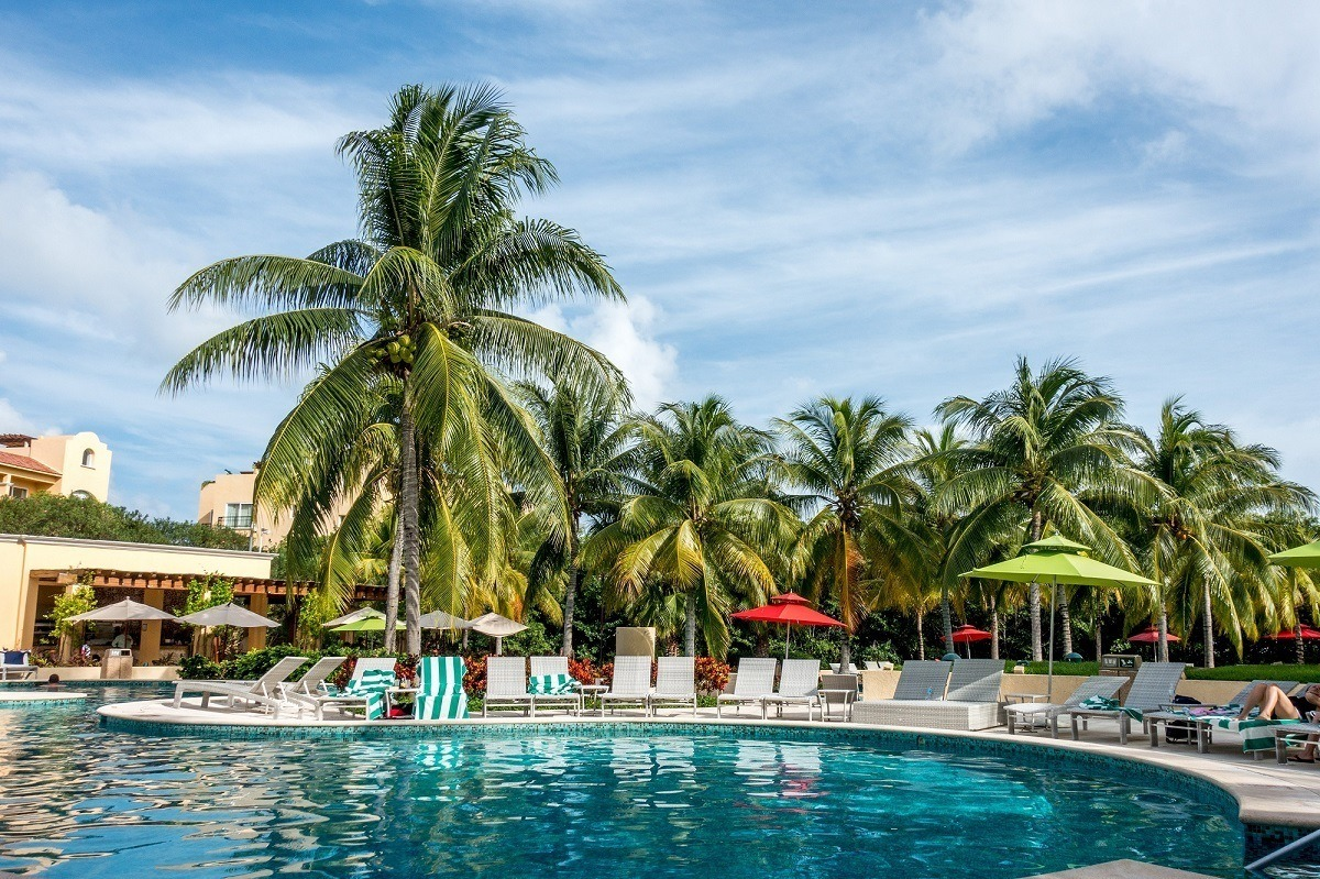 One of the best things to do at Hacienda Tres Rios is to lounge by the pool and do nothing at all.