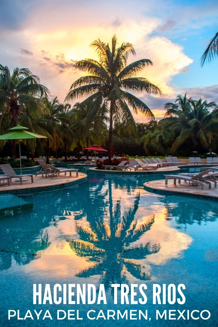 The Hacienda Tres Rios is an ecological oasis in Playa del Carmen, Mexico. It's a great base to explore the Riviera Maya.