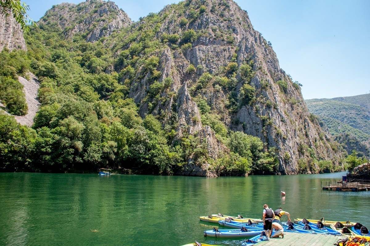 A visit to Matka Canyon is one of the best things to do in Macedonia