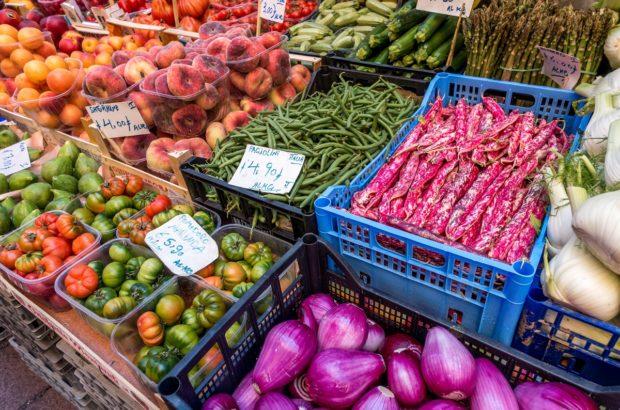 Coloful Emilia Romagna food