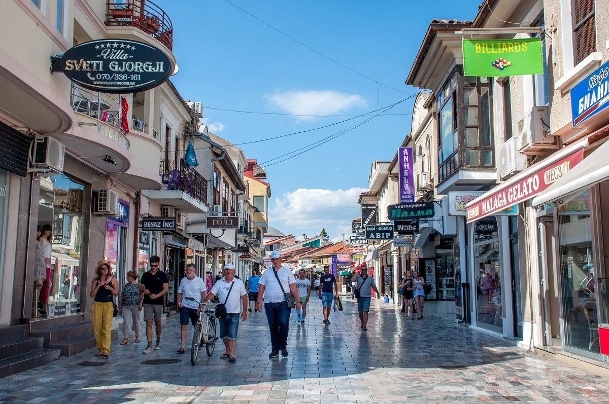 Old Town of Ohrid, Macedonia