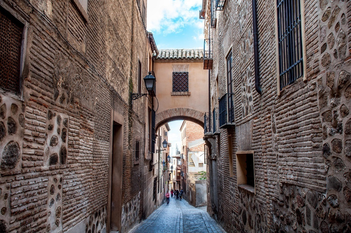 The old city of Toledo, Spain is recognized as a UNESCO World Heritage Site.