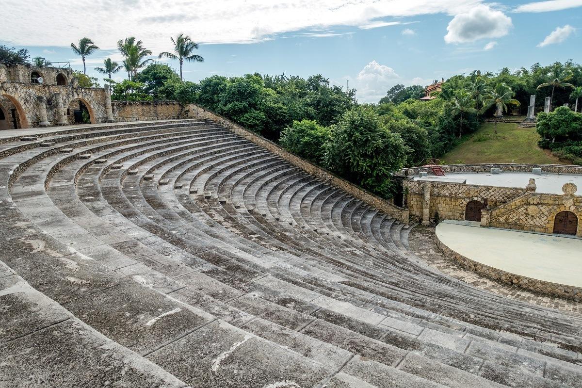 The 5000-seat amphitheater at Altos de Chavon