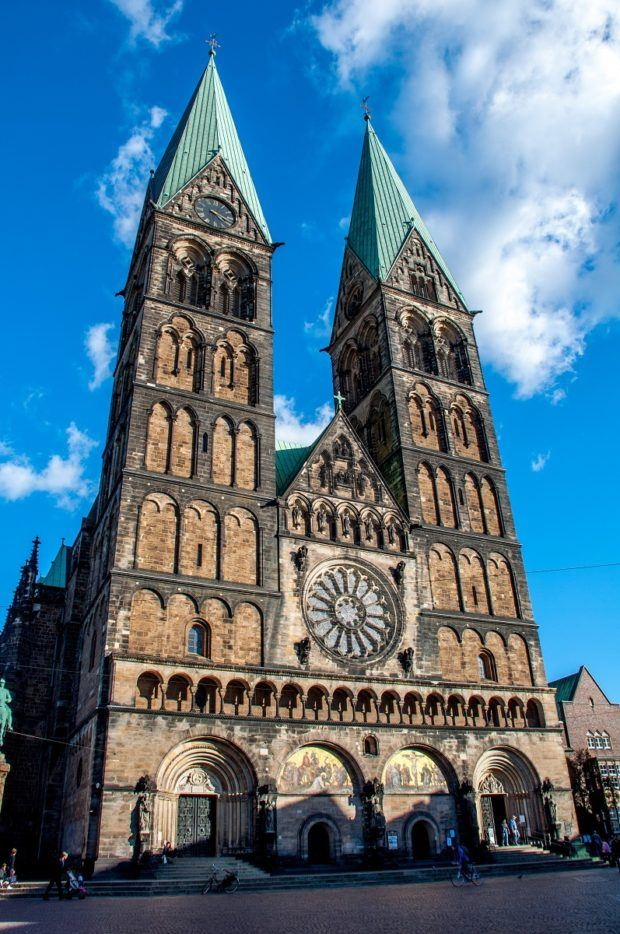 St. Peter's Cathedral is one of the interesting things to see in Bremen, Germany