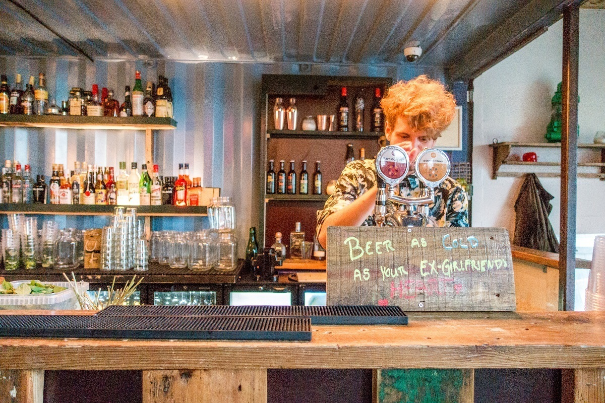 There are so many drinks to choose from at Copenhagen Street Food