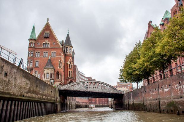 Hamburg's Speicherstadt warehouse district