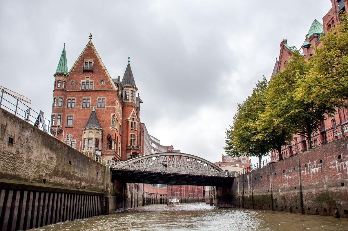 Hamburg's Speicherstadt warehouse district