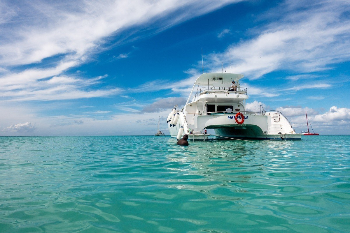 Taking a yacht to Saona Island is one of the most fun Punta Cana activities